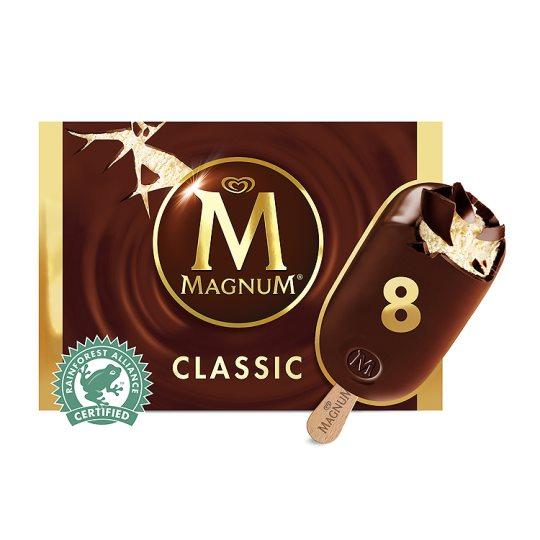 Magnum Classic Ice Cream 8X110ml £3.00 at Tesco