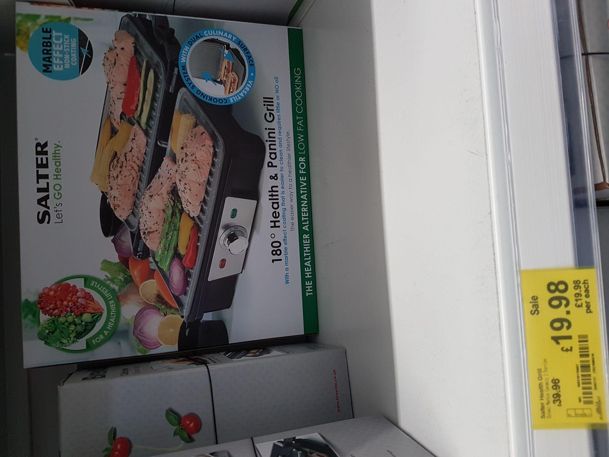 Salter Panini Grill 180° £19.99 HALF PRICE ADSA