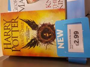 Harry Potter and the cursed Child Book. £2.99 @ Sainsbury's