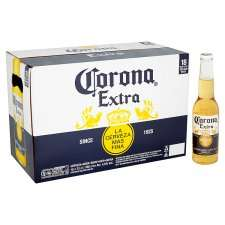 Corona - 18 x 330ml bottles for £14 with Free Ice Bucket in store at Tesco