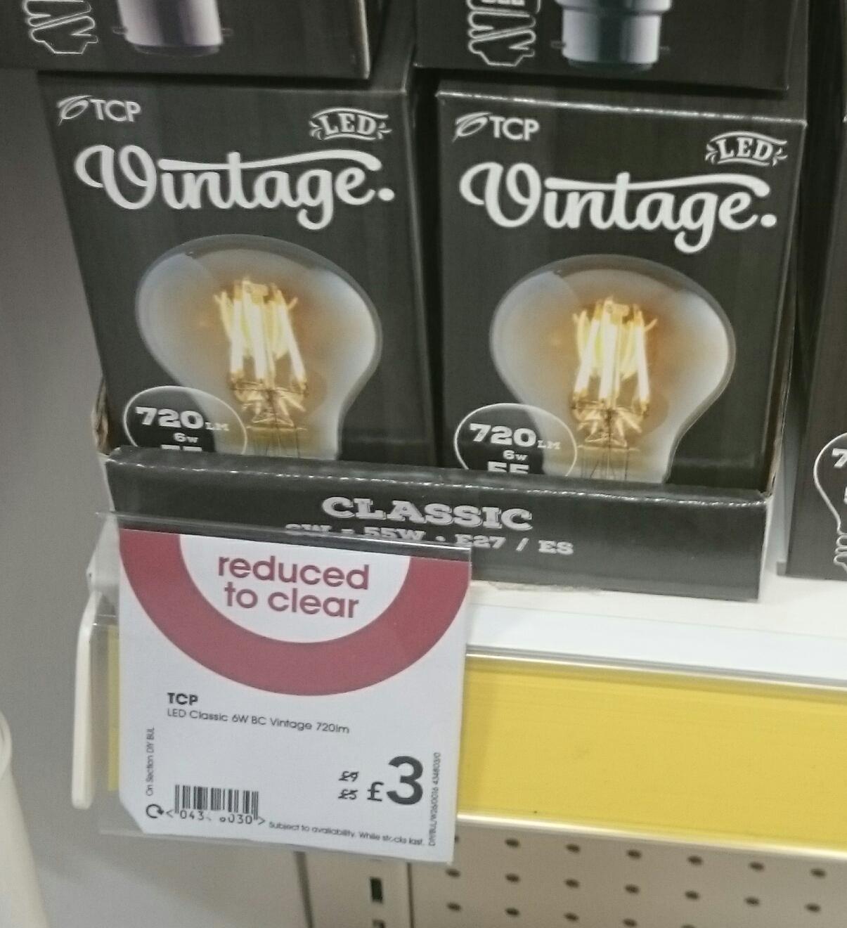 Led light bulb £3 Wilko instore - Ashton Under Lyne