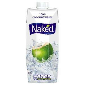 1 litre naked coconut water 99p @ lidl