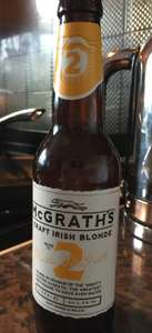 McGraths Craft Irish Blonde Beer 69p at Home Bargains