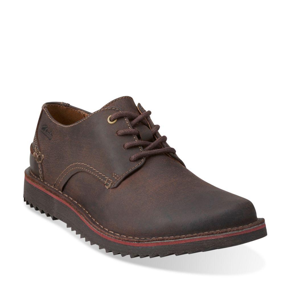 Remsen Limit Dark Brown Leather £38.00 @ Clarks
