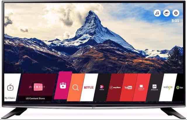 "LG 58UH635V 58"" Smart 4K Ultra Led TV - £629 @ PRC Direct"