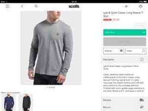 Lyle & Scott sale items from £9