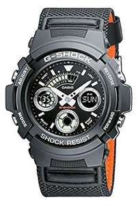 Casio G-Shock Men's Watch with Black Analogue Display and Nylon Strap £66.00 @ Amazon