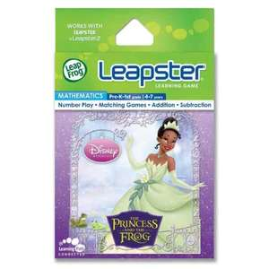 leapster 'the princess and the frog' learning game 3p @ Toys R Us (Teeside & Brent Cross)