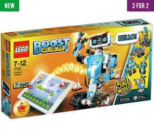 Lego Boost in 3 for 2 at argos - £149.95 each