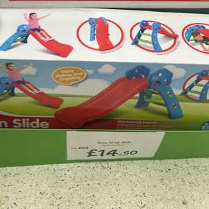 grow n up slide £14.50 instore @ asda (Llandudno)