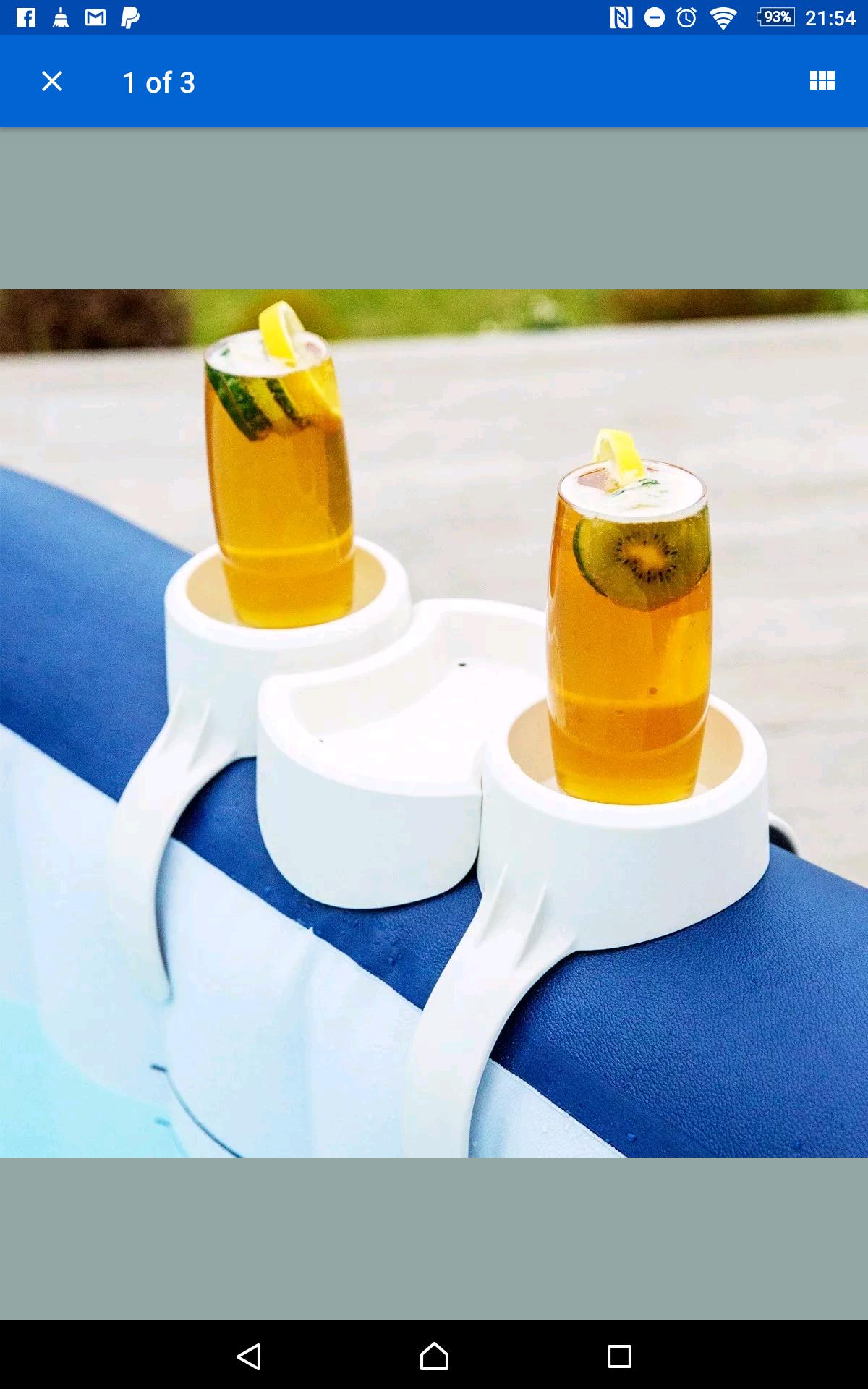 Lay z spa drinks holder,  hot tub drinks holder - £11.94 via eBay (seller ppretail)