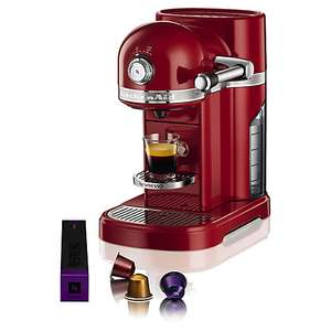 Kitchenaid Empire Red Coffee Machine £150 @ John Lewis