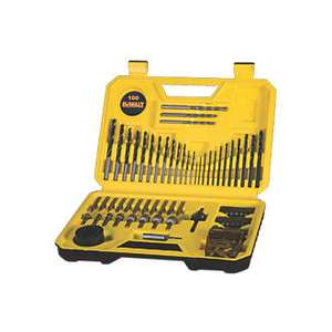 DEWALT COMBINATION DRILL BIT SET 100 PIECE SET £19.99 @ Screwfix (C&C)