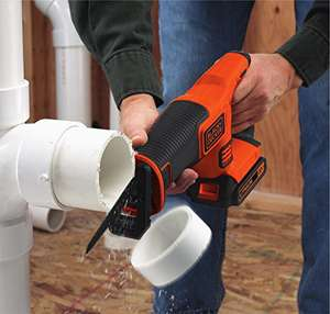 Black + Decker Reciprocating Saw 18V lithium (battery not included) lowest price ever £39.99 @ Amazon