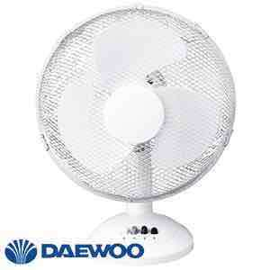 "Daewoo 12"" Desk Fan - home bargains £12.99"