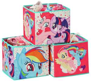 My Little Pony Storage Box Cubes now £10.99 at Argos