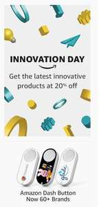 Amazon Launches Innovation Day - 20% off select innovative products - First Wednesday of the Month