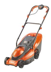 Flymo Chevron 34C 34cm Cut Wheeled Electric Lawn Mower £66.33 - Amazon