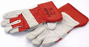 Draper 10926 Large Heavy Duty Leather Industrial Work Gloves £4.50  sold by Langley Steelworks Ltd