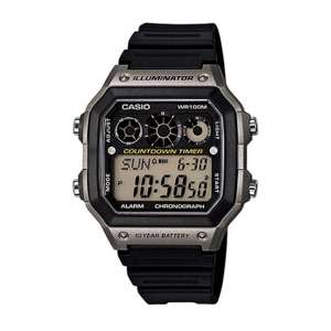 Casio Men's World Time Strap Watch £12.99 at Argos