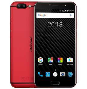 Ulefone T1 5.5 inch 6GB Ram 64GB Fingerprint 4G B20 Helio P25 Octa Core Android 7.0​ @ Aliexpress/Ulefone Official Store for £153.61