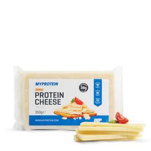 MyProtein High Protein Cheese - Low Fat - 350g - Pack - Smoked was £4.99 now 75p each with code PAYDAY (Delivery £2.95 with spend under £50)