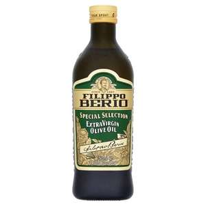 Filippo Berio Extra Virgin Olive Oil Special Selection (750ml) was £8.00 now £4.00 @ Tesco