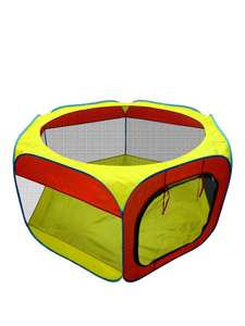 150cm by 130cm by 75cm Hexagon Fabric Ball Pit was £24.99 now £12.99 C+C @ Very (+ Fisher Price Circus Ball Pit £19.99)