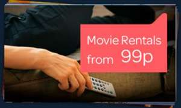 Digital: Over 30 Movie Rentals on Offer, prices start from 99p SD/HD - TalkTalkTV (Formerly Blinkbox TV)