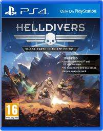 Helldivers Super Earth Ultimate Edition (PS4) USED £4.99 free delivery Grainger Games