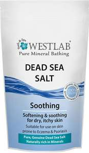 Westlab salt bath soaks Epsom salt himalayan and Dead Sea salt 500g £1 @ Lloyds pharmacy
