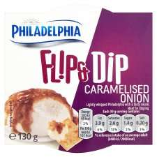 Free Philadelphia Flip & Dip 130g at Tesco groceries online