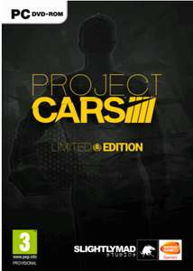Project CARS Limited Edition PC £8.99 @ cdkeys