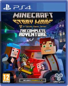 Minecraft: Story Mode - The Complete Adventure PS4/XB1 £19.99  - GAME