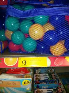 100 play balls for £3 @ Morrison's in store and online