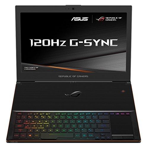 ASUS GX501VI ROG Zephyrus 15.6-inch Gaming Laptop (Black) - (Intel Core i7-7700HQ, Full HD 120 Hz G-Sync Display, Nvidia GTX 1080 8 GB, 16 GB RAM, 512 GB PCIe SDD, Full RGB Keyboard, Win 10) - £2799 @ Amazon