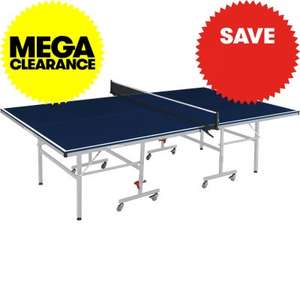 Table Tennis Table Blue w/ Bats & Balls Just £95.99 (£19.99 delivery) @ JTF