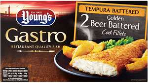 Young's Gastro 2 Lightly Dusted Sicilian Lemon & Parsley Cod Fillets (300g) was £3.75 now 2 packets for £5.00 @ Asda