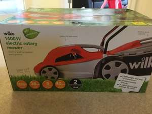 1400w electric lawn mower - £25 instore @ Wilko