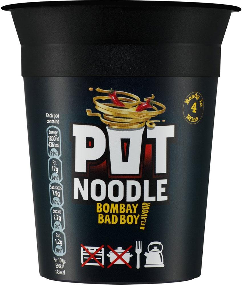 Pot Noodle Bombay Bad Boy (90g) Half Price was £1.00 now 50p @ Tesco