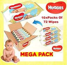 Huggies Pure wet wipes (10 x 72 wipes) - Costco from 7th August - £5.14