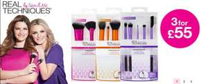 Star Buy! Real Techniques Sculpting Set £9.89@ superdrug 10% off members only + Free delivery