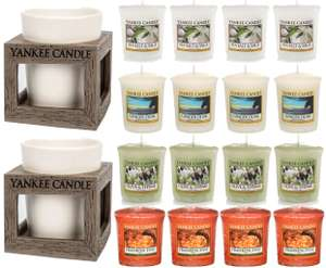 Yankee Candle 16 Piece Rustic Votive Holders Gift Set £14.99 prime / £19.74 non prime Sold by My Swift and Fulfilled by Amazon