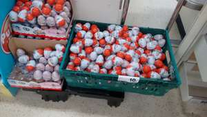 Kinder surprise eggs 10p each in-store only at tesco parkhead