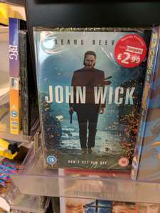 John Wick DVD £2.99 New at Home Bargains