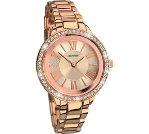 Sekonda Editions Ladies' Rose Gold Plated Bracelet Watch @ Argos