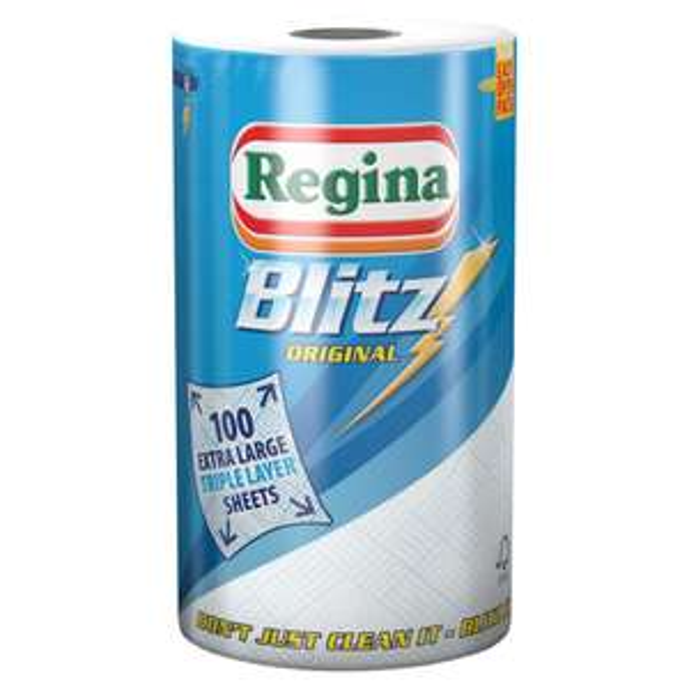 Regina Blitz kitchen Roll (100 sheets) £1.20 @ Wilko