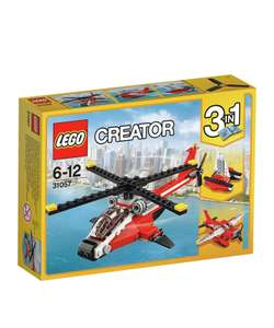 Lego Creator Air Blazer 31057 now £6.99 in Argos