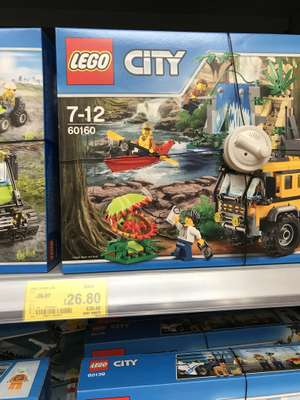 LEGO 60160 Jungle Mobile Lab £26.80 at ASDA (Pudsey)