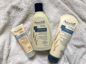 Boots 1/3 off all Aveeno Baby Range!